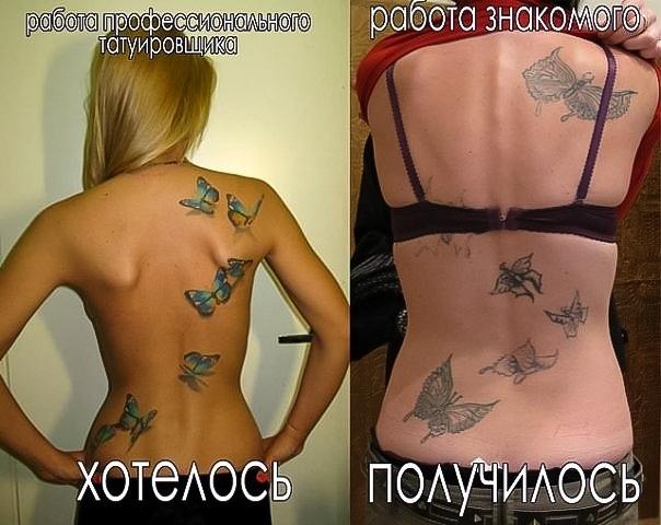 Татуировка — Бесплатно